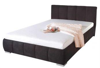Čalouněná postel Alcantara antarazit  160x200cm