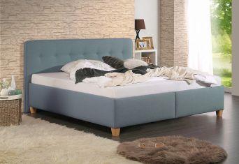 Čalouněná postel Fiagro petrol 200x200cm