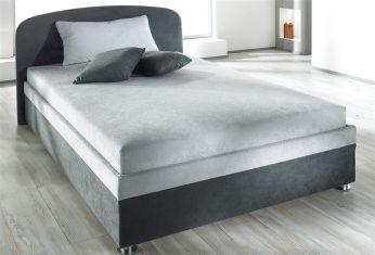 Čalouněná postel gray 2 color komfort 180x200cm