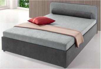 Čalouněná postel Novel gray 120x200cm