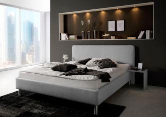 Čalouněná postel Yuba gray  180x200cm